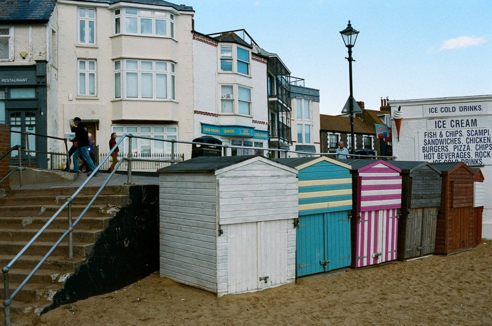 broadstairs seaside storage film photography