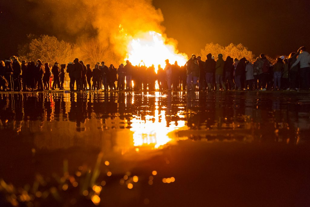 Visuals from the Lewes Bonfire Night – UK