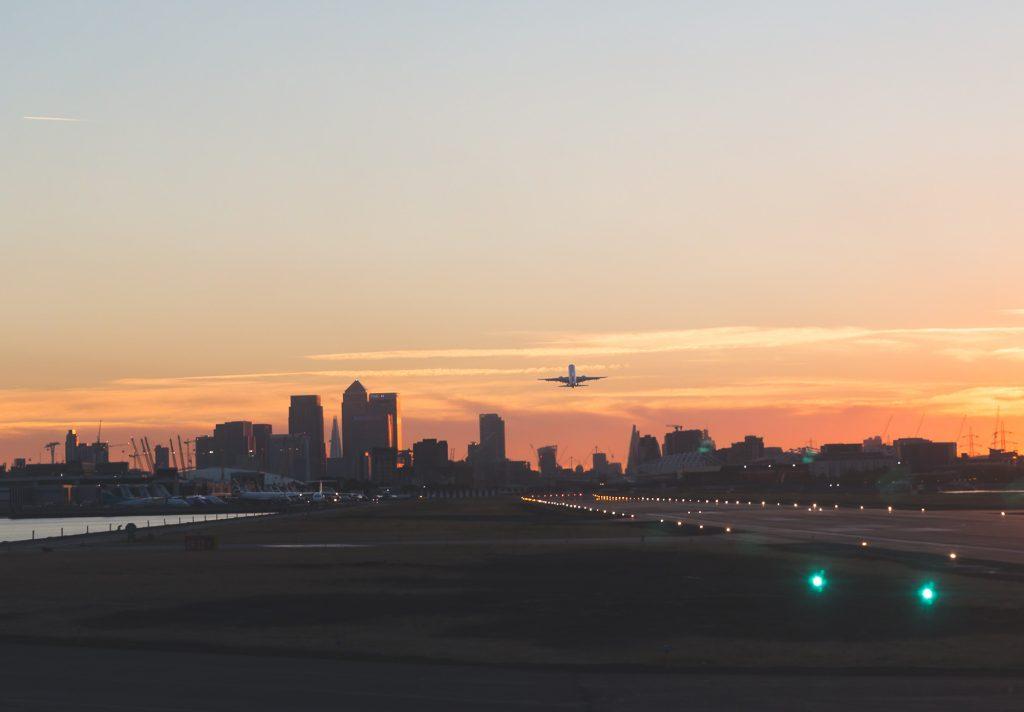 taking off london city