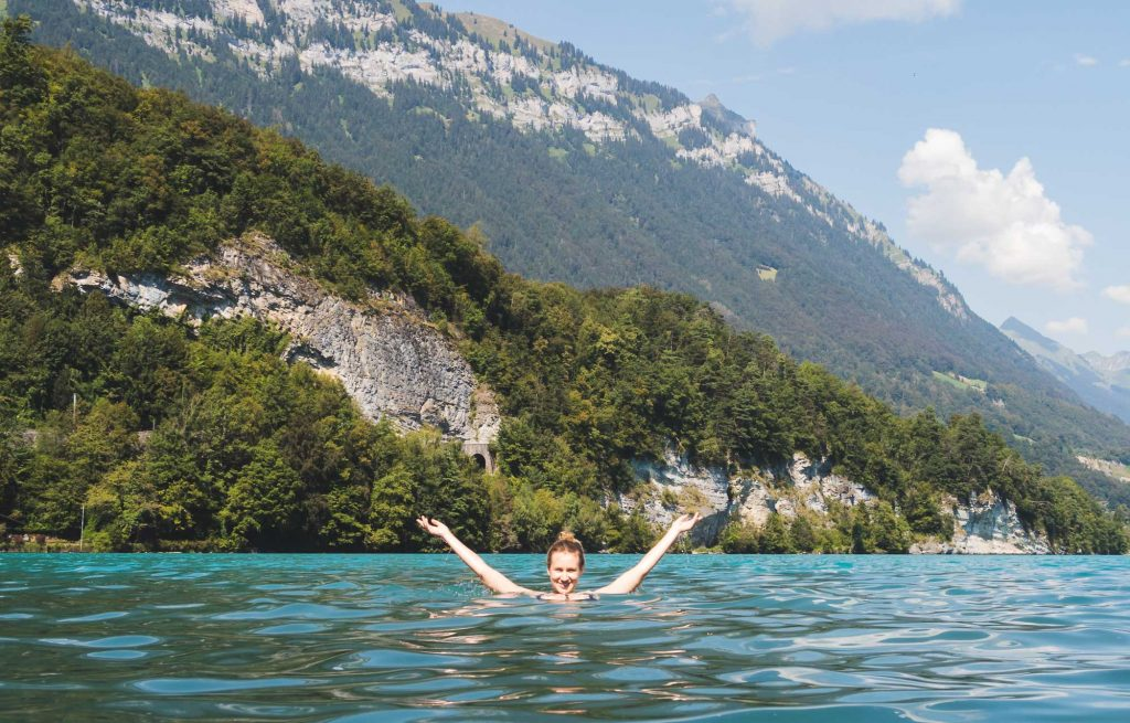 Lake Thun Swimming