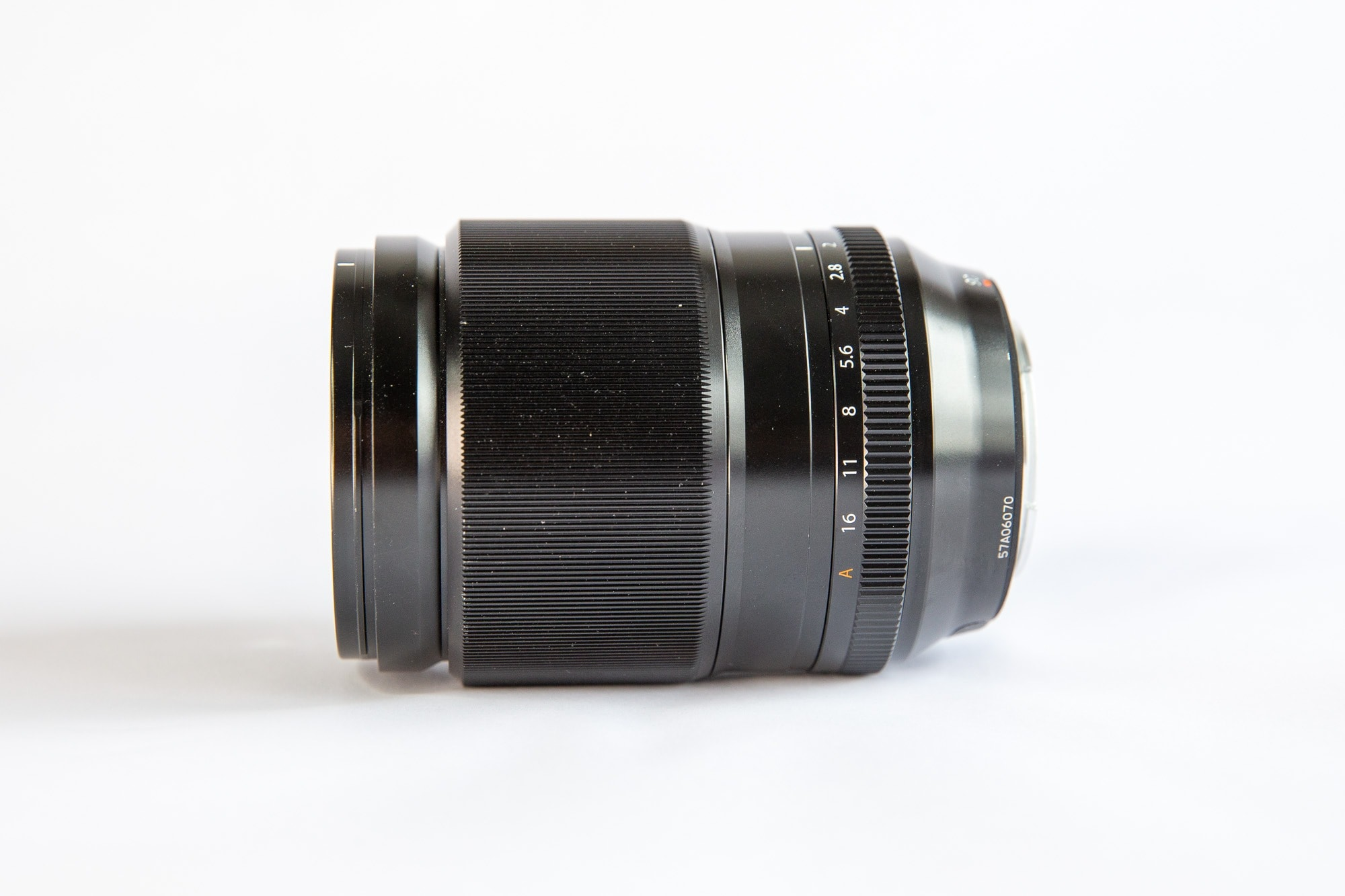 Fuji XF 90mm f2 Side View