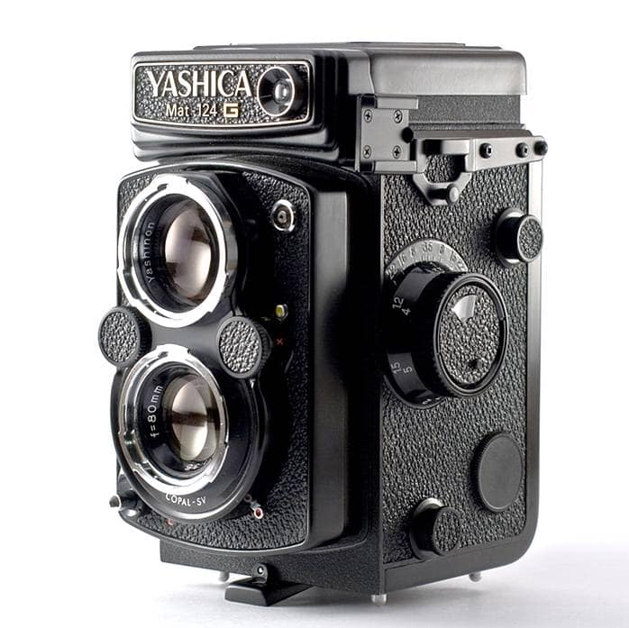 Yashica mat 124 review