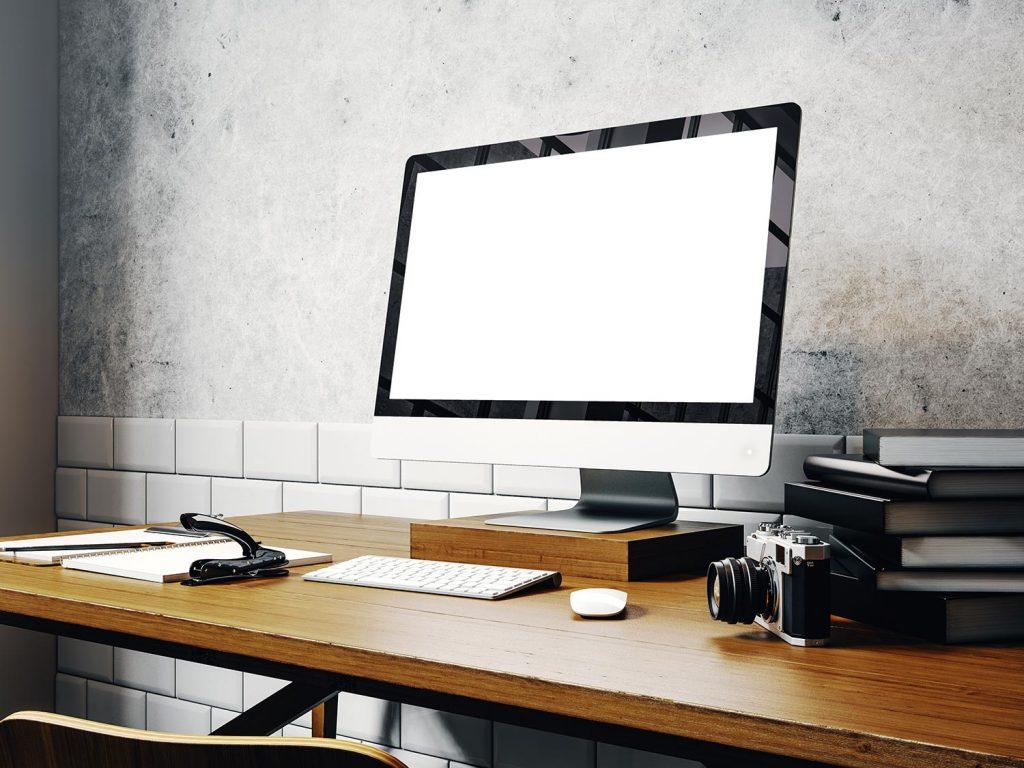 desktop computer for photo editing
