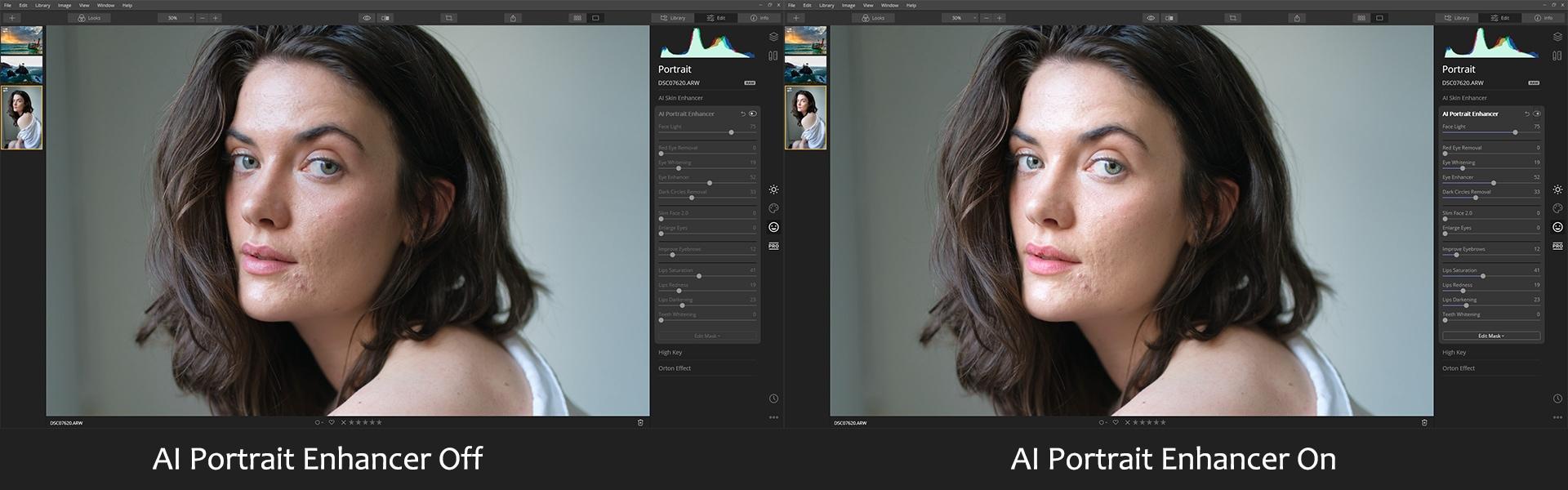 AI Portrait Enhancer