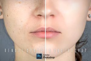 How To Quickly Remove Spots in Photoshop